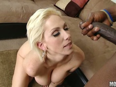 Blonde milf Kasey loves the spurt of cock she gets after getting real banged