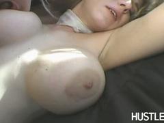 Horny honey Raquel Devine loves the stiff cock screwing deep in her steamy ass