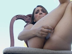 Hot Charlie Laine likes the pleasure of toying her twat just like getting fucked