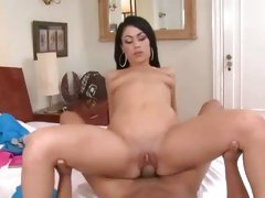 Horny bitch Summer bailey gets her tight pussy banged with pulsing cock