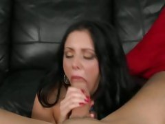 Slurping slut Kaylynn sucks off a fuckstick and gets hot pussy bashed with cock