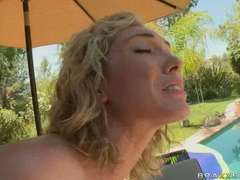 Slutty cum lover Lily Luvs wanted nothing more than her man's spurt on her mouth