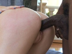 Cock lover Alexa Lynn gets her pussy thumped by a rock hard cock