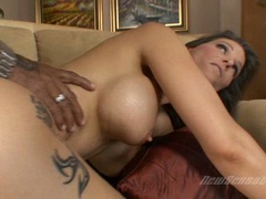 Saultry pornstar Syren Demer getting fucked harder she cant wait to get cummed