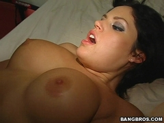 Big boobed Rachel Roxxx gets punded hard