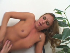 Busty Georgia Peach and friend doing a nasty groupsex action