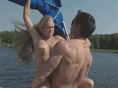 Judy Star and her friend gets drilled on ass alternately