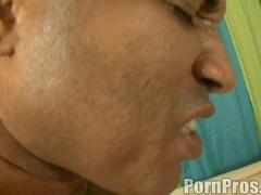 Ashli Orion gets a soupy cream jizz on her face