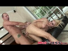 Samantha Sin getting screwed hard on her ass doggystyle