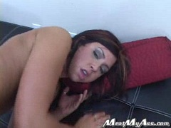 Teen babe Cody Lane gets her asshole drilled from behind