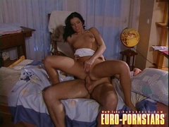 Cock humper Cory Babe swallows a big cock and cumload
