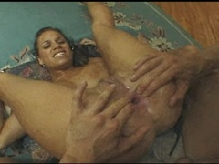 Big tits Mia Bangg gets pounded hard on her butthole