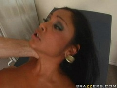 Busty babe Priya Rai getting screwed hard on her wet cunt