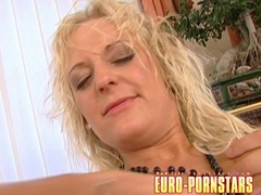 Hot lesbos Mili Jay and friend playing their holes with dildo toys