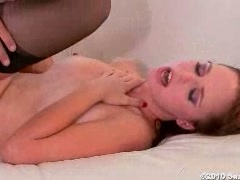 Bitchy naked Hayden Night gets laid on the couch having the best fuck ever