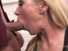 Will Bibi Fox Takes On Two Big Cocks At Once Picture