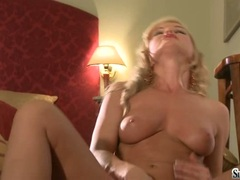 Sylvia Saint loves pleases her silky sweet snatch with her wild hands