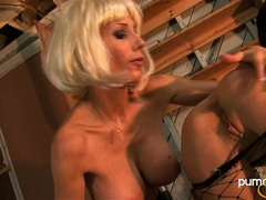 Pussy lover Puma Swede couldn't stop playing with her best friend's tight snatch