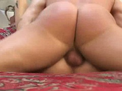 Sharon Wild loves the feel of hard pole ramming up her juicy snatch