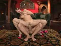 Stunning bitch Katsumi gets her tight twat and juicy ass fucked deep with dick