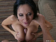 Sex fantasy Ava Addams always wanted to get facialized with her man's fresh goo