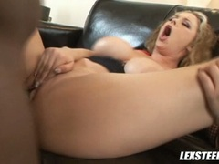 Pornstar Katie Cummings gets fucked so good she couldn't stop moaning