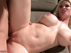 Diamond Foxxx gets her pink mink spooned out by a big dick and loves it