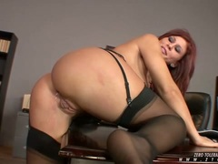 Brooklyn Lee gets her pleasure hole stabbed hard and deep by a monster cock