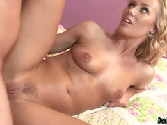Nicole Aniston gets her pussy stabbed by a monster pipe she truly likes