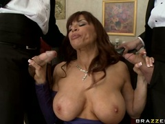 Devon Michaels lusty mommy doing a mouth job
