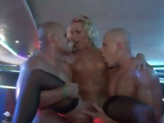 Cindy Dollar & Christina Lee have a huge gang bang