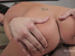 Tiffany Bookes let her tight cunt riding a hard dick