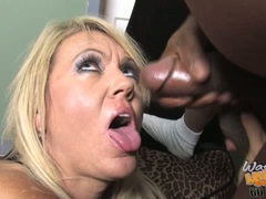 Chennin Blanc hot mom happy from semen load