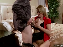 Tanya Tate get fuck on her big tits by her horny hubby