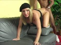 Barbie Cummings anal sex in the living room