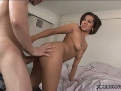 Vanessa Leon like the bum fuck in the bed room