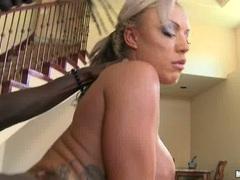 Brooke Jameson horny milfhard anal on billiard table