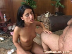 Luscious Lopez hot babe get cum off in her mouth
