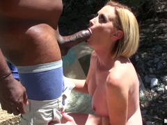 Camryn Cross enjoy playing the dick of a hot black guy