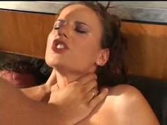Claudia Rossi double cock shore getting facial
