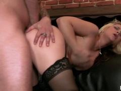 Sarah Vandella busty babe butt bang hard by a hard cock