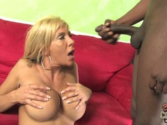 Misty Vonage cougar like the cum from black guys