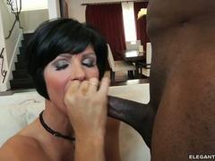 Shay Fox lusty mom swallows a hard fuck shaft