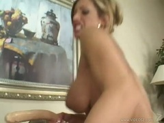 Ashley Steel dildo drilling with horny chicks