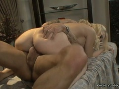 Kagney Karter bumping with man's rod on cock