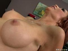 Monique Alexander hot milf making love with bald dude