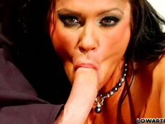 Angela Aspen getting the hard dick blow too much