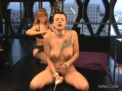 Balledona getting fuck hard by a vibrator