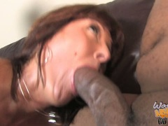 Desi Foxx enjoy black cocks in mouth and cunt