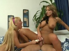Ally Kay vibes Nikki Sexxx as she is fucked hard